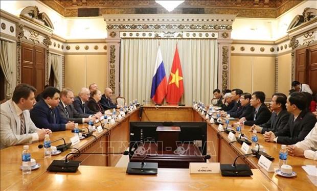 胡志明市与俄罗斯分享反腐败经验 hinh anh 1