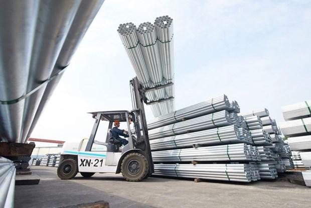 越南和发集团首次对印度出口近1000吨镀锌钢管 hinh anh 1