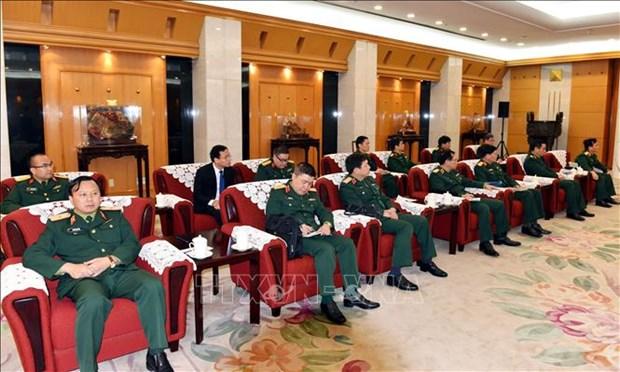 越南与中国加强防务合作 hinh anh 2