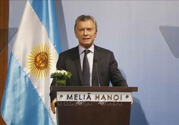 阿根廷总统:越南与阿根廷携手推进战略伙伴关系 hinh anh 1