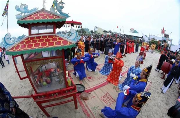 岘港市求鱼节获得国家非物质文化遗产证书 hinh anh 1