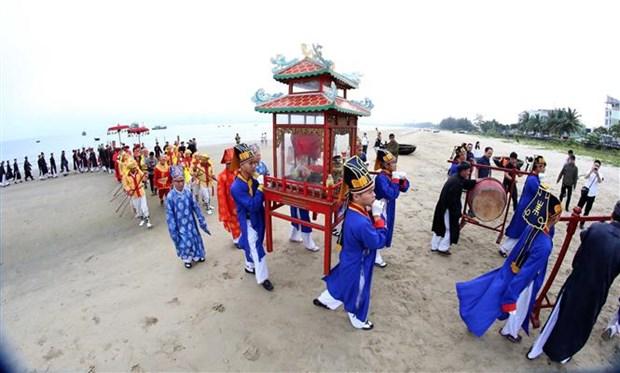 岘港市求鱼节获得国家非物质文化遗产证书 hinh anh 2