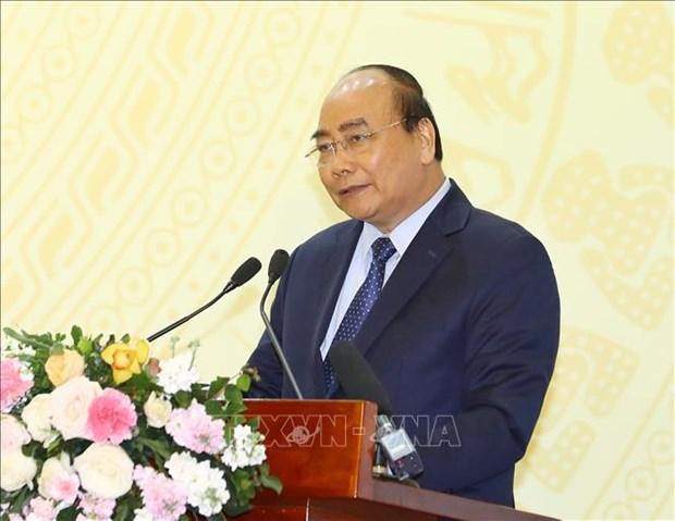 政府总理阮春福:2019年木材和林产品出口额需突破110亿美元的大关 hinh anh 2