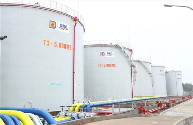 越南政府总理阮春福出席DKC汽油和油类产品仓库和码头工程竣工仪式 hinh anh 2