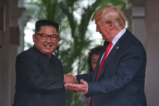 越南一直以来愿为实现构筑朝鲜半岛持久和平做出积极贡献 hinh anh 1