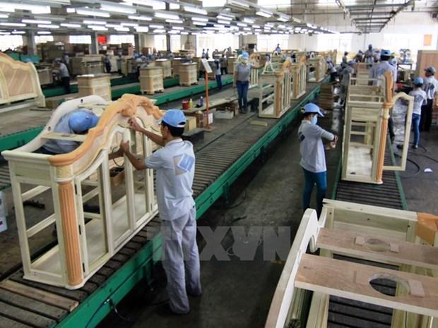 越南非木质家具出口额连续增长 hinh anh 1