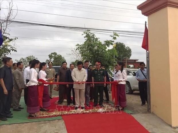 越柬友谊纪念碑在阮富仲访柬之前正式落成 hinh anh 1