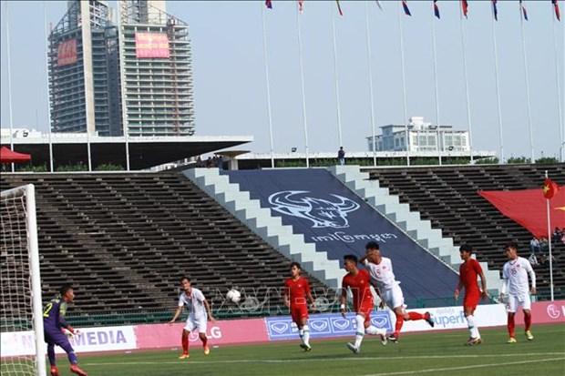 东南亚U22足球锦标赛半决赛:越南队惜败印度尼西亚队 hinh anh 1