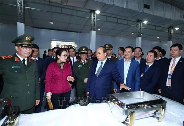 阮春福总理对美朝领导人第二次会晤的准备工作进行实地检查 hinh anh 2