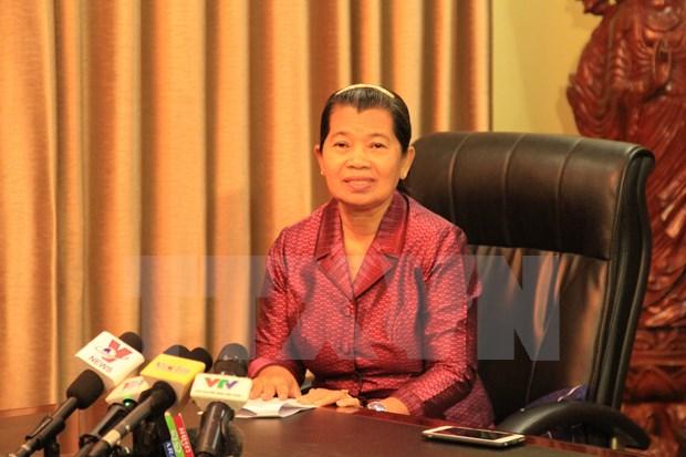 柬埔寨副首相梅森安:越柬传统关系是柬埔寨取得各成就的基础 hinh anh 1