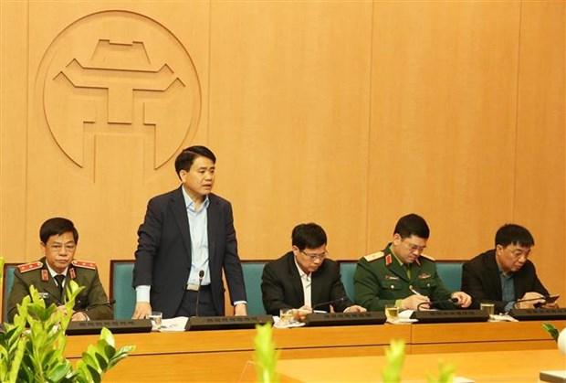 美朝领导人第二次会晤:加大首都形象宣传力度 做好各项准备工作 hinh anh 1