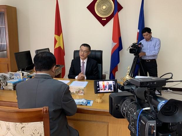 越南与柬埔寨经贸投资合作日益密切 hinh anh 1