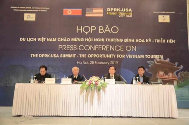 越南趁美朝领导人会晤机会推广旅游形象 hinh anh 1