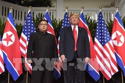 美朝领导人第二次会晤:推动朝鲜无核化进程 hinh anh 1