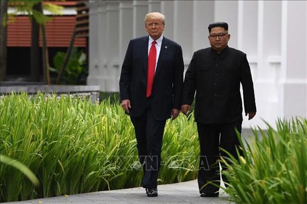 美朝领导人会晤有助于提升越南的国际地位和威望 hinh anh 1