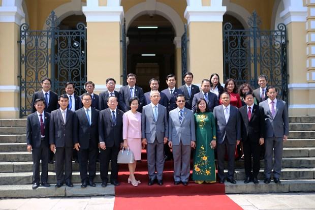 越南与泰国法院分享毒品犯罪案件审判经验 hinh anh 2