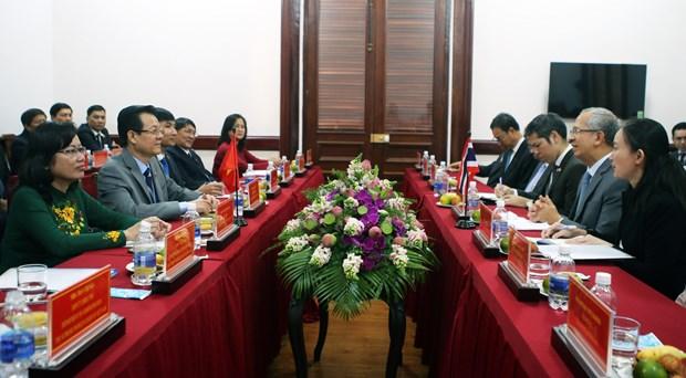 越南与泰国法院分享毒品犯罪案件审判经验 hinh anh 1