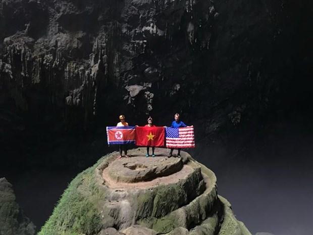美朝领导人第二次会晤: 广平省免费为近4000名记者提供免费旅游服务 hinh anh 1