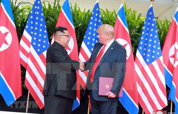 美朝领导人第二次会晤:需要恢复美朝相互信任的氛围 hinh anh 1
