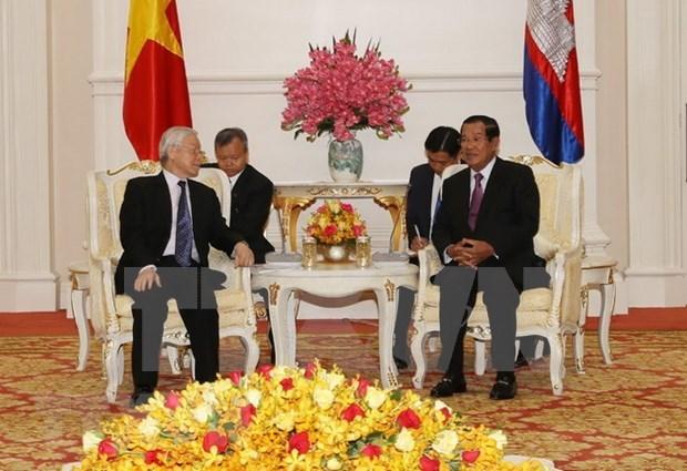 柬埔寨媒体高度评价阮富仲访柬之旅 hinh anh 2