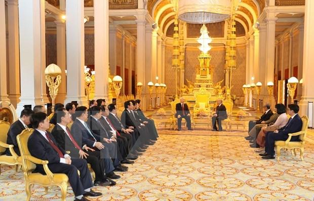 柬埔寨媒体高度评价阮富仲访柬之旅 hinh anh 1