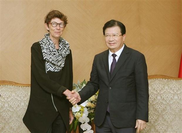 郑廷勇副总理:欢迎挪威企业对越南开展投资合作活动 hinh anh 1