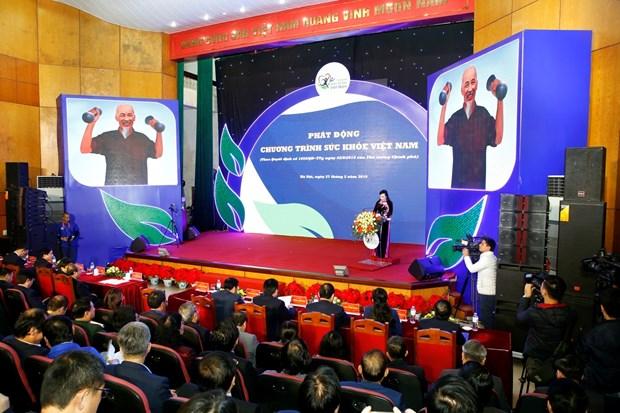 阮春福出席越南健康项目启动仪式 hinh anh 1