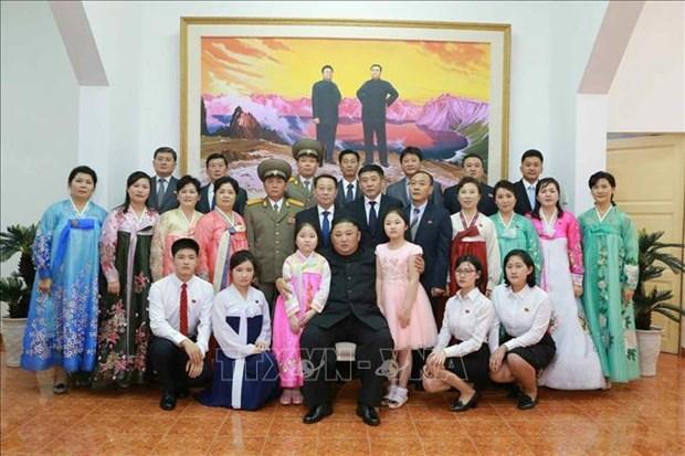 美朝领导人会晤:朝鲜中央通讯社报道金正恩访问越南的消息 hinh anh 1