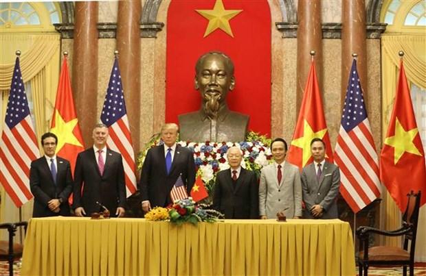 越南多家航空公司与美国世博国际、波音签署合作协议 hinh anh 3