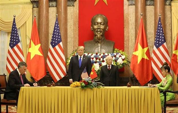 越南多家航空公司与美国世博国际、波音签署合作协议 hinh anh 2