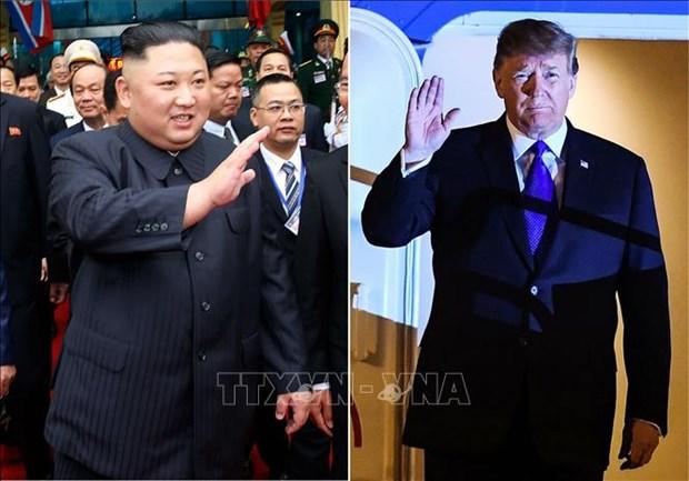 美朝领导人会晤:美国总统证实朝鲜有着巨大的发展潜力 hinh anh 1