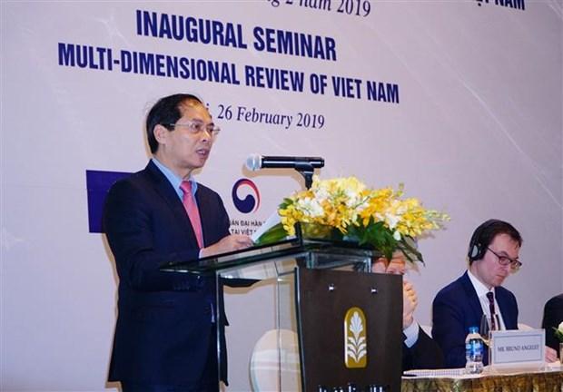 越南启动制定国家多维评价报告 hinh anh 1
