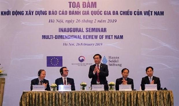 越南启动制定国家多维评价报告 hinh anh 2