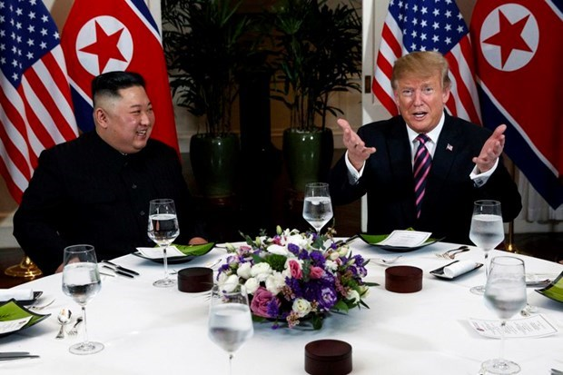 美朝领导人第二次会晤:美朝两国在无核化问题上做出巨大努力 hinh anh 1