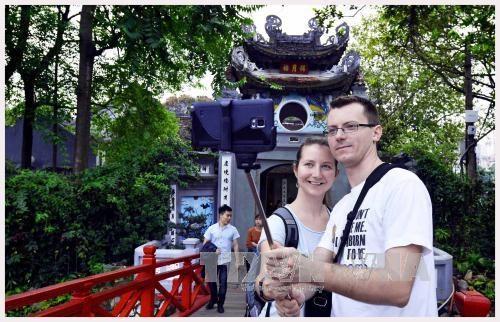 今年2月份越南国际游客接待量创有史以来新高 hinh anh 1