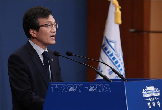 韩国总统发言人:美朝领导人第二次会晤的所有进展都非常重要 hinh anh 1