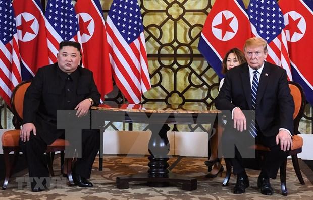"""美朝领导人第二次会晤:特朗普对朝鲜无核化""""毫不匆忙"""" hinh anh 1"""