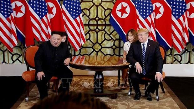 美国媒体密集报道关于美朝领导人第二次会晤的消息 hinh anh 1