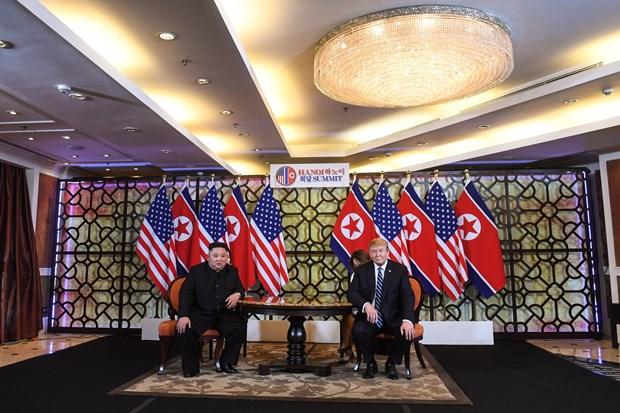 美朝领导人第二次会晤:白宫公布特朗普28日日程安排 hinh anh 1