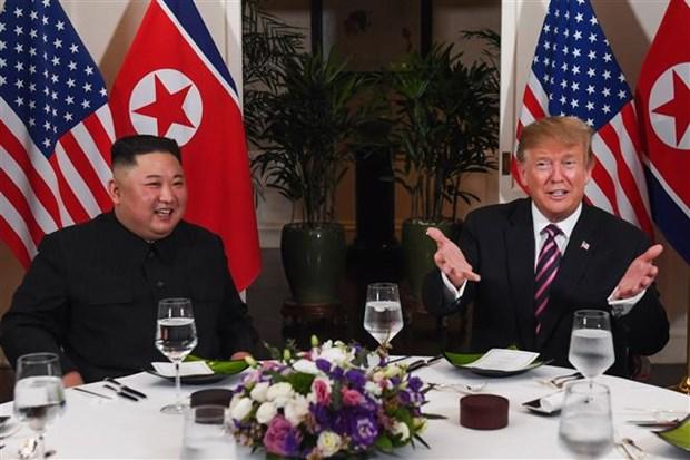 国际媒体对美朝领导人第二次会晤取得的成果持乐观态度 hinh anh 1