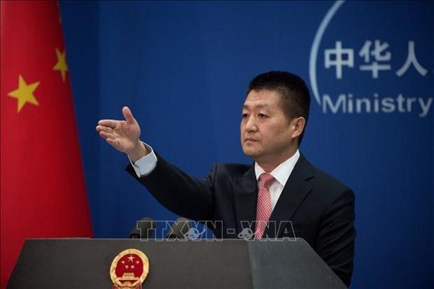 美朝领导人河内会晤:中方认为朝核问题的解决不是一朝一夕的 hinh anh 1