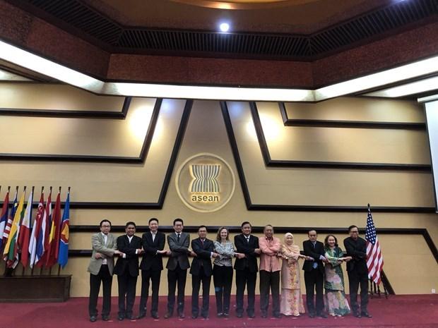 美国强调重视与东盟的合作 hinh anh 1