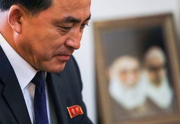 朝鲜高官代表团对中国进行访问 hinh anh 1