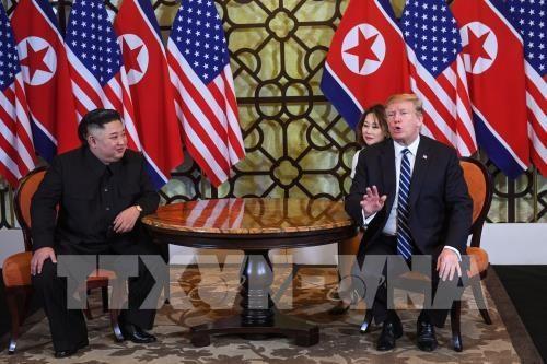朝鲜中央通讯社:美朝领导人未来将继续进行建设性对话 hinh anh 1