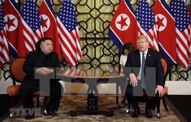 美朝领导人第二次会晤:彰显越南对和平与稳定的贡献 hinh anh 1
