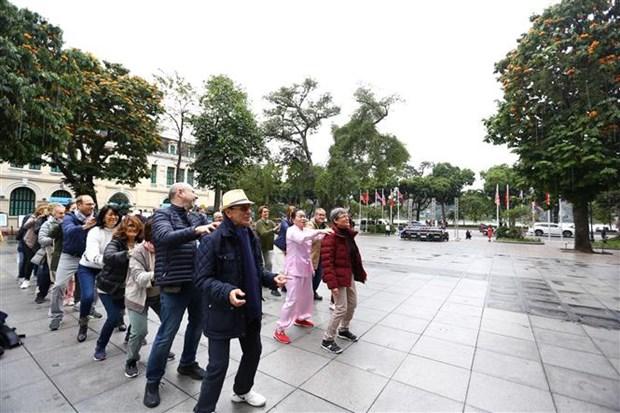 美朝领导人河内会晤:越南的崭新面貌与和平形象得到传播 hinh anh 1
