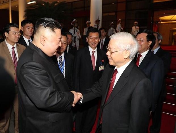 越南与朝鲜:路遥心近 hinh anh 1
