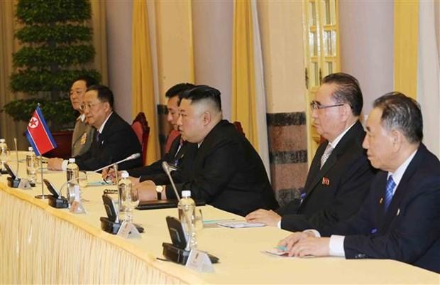 朝鲜主席金正恩:朝鲜重视并希望继续巩固与越南的传统友好关系 hinh anh 2