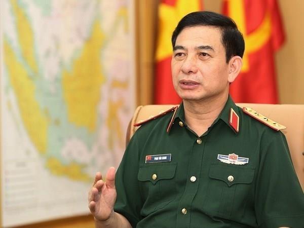 越南人民军高级军事代表团对日本进行正式访问 hinh anh 1