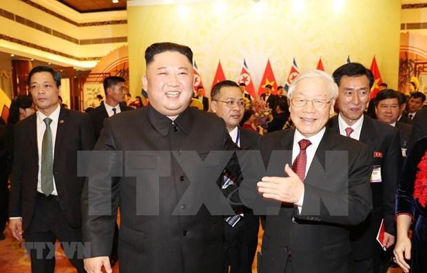 朝鲜中央通讯社:朝鲜最高领导人希望改善与越南的关系 hinh anh 1